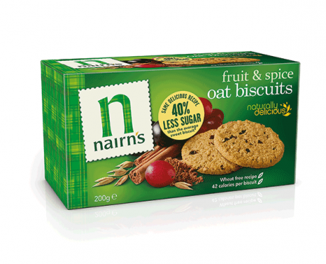 Fruit & Spice Oat Biscuits
