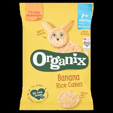 Organic Baby Rice Cakes - Banana
