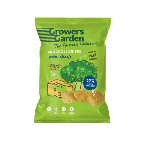 Broccoli with Cheese Crisps - lge (not organic)