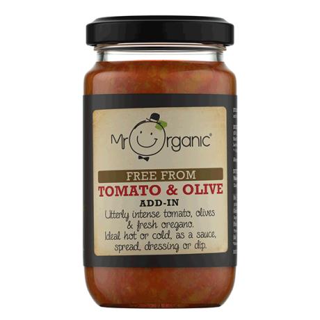 Organic Tomato & Olive Add-In Sauce