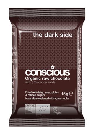 Organic Mini Darkside - 85% Raw Choc Bar