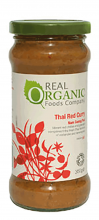 Organic Thai Red Curry Sauce