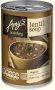 Organic Lentil Soup - Vegan