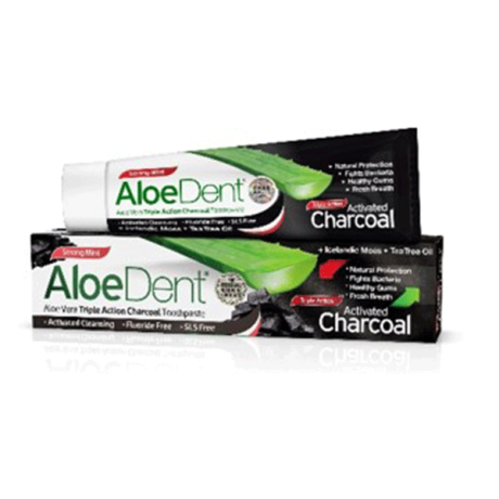 Charcoal Toothpaste - fluoride-free - New!