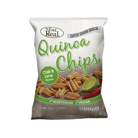 Chilli & Lime Quinoa Chips