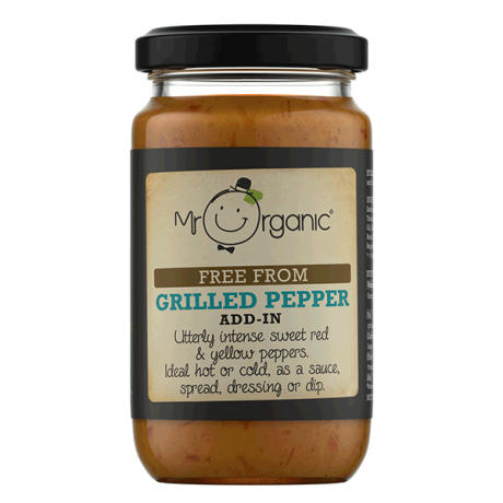 Organic Grilled Peppers Add-In Sauce