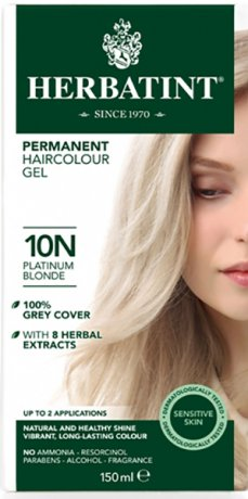 10N - Platinum Blonde - Hair Colour