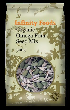 Organic Omega Four Seed Mix