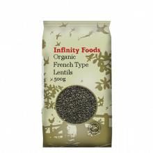 Organic French Type Lentils
