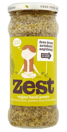 Basil Vegan Pesto - lge