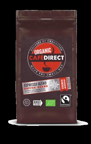 Organic Whole Coffee Beans - Espresso Blend - 5