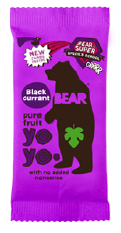 Blackcurrant Yoyo Fruit Rolls