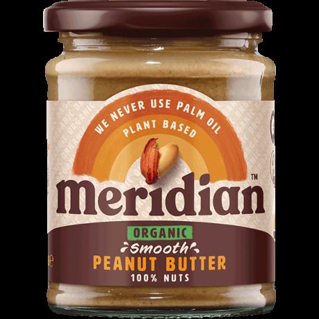 Organic Peanut Butter Smooth 100%