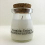 Fireside Embers - Milk Pudding Style Glass Jar