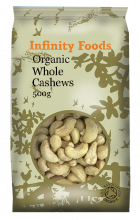 Organic Cashews Whole
