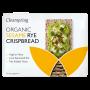 Organic Rye Sesame Crispbread