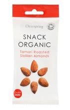 Organic Roasted Tamari Almonds