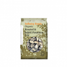Organic Pistachios - roasted & salted