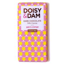 Organic Goji & Orange Dark - 74% chocolate - New!