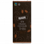 Organic Dark 80% Thin Bar