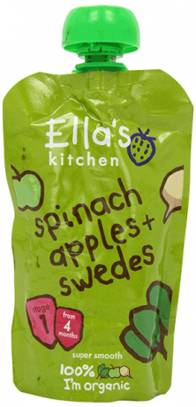 Organic Spinach, Apples and Swede