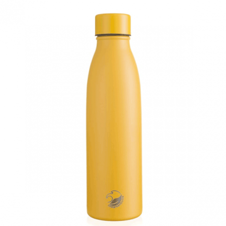 500ml Yellow Life Collection Vacuum Flask with screw cap