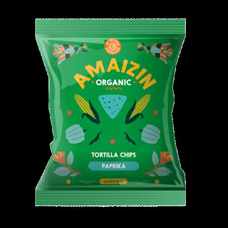 Organic Paprika Corn Chips