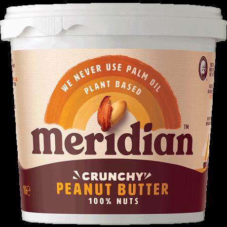 Bulk Peanut Butter Crunchy 100% - plastic