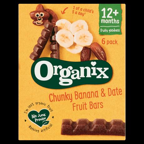 Organic Date & Banana Chunky Fruit Bars