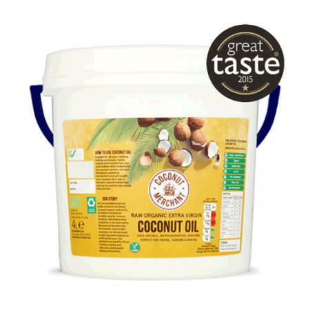 Organic Raw Coconut Oil - extra virgin - plastic tub