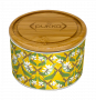 Turmeric Gold Ceramic Tea Caddy