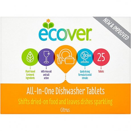 All in One Dishwasher Tablets - small