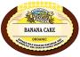 Organic Banana Cake