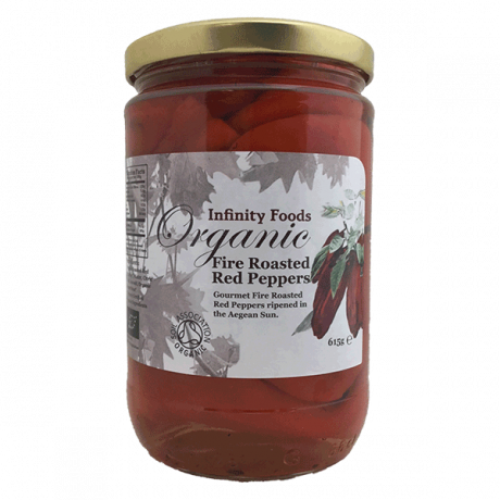 Organic Fire Roasted Red Peppers