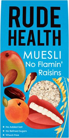No Flamin' Raisins Muesli