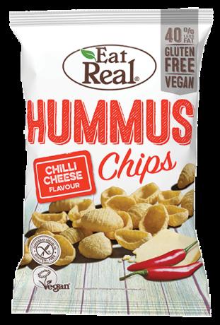 Chilli & Cheese Hummus Chips