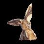 Organic Rabbit - Marbled Dark/Milk/White Choc