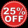 25% July 18