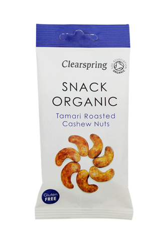 Organic Tamari Roasted Cashew Nuts