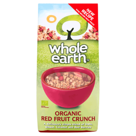Organic Red Fruit Crunch - granola