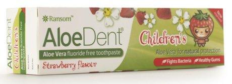 Children's Toothpaste (strawberry) - fluoride-free