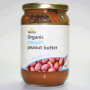 Organic Peanut Butter Smooth salted
