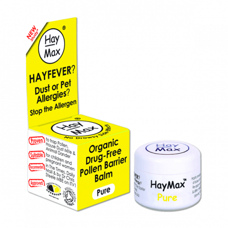 Organic HayMax Pure - hay fever pollen barrier balm