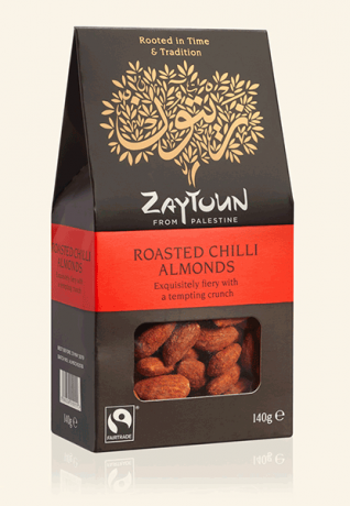 Chilli Almonds
