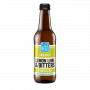 Organic Lemon Lime Bitters Kombucha Living Soda