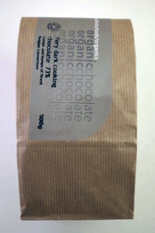 Organic Cooking Chocolate - 73% very dark