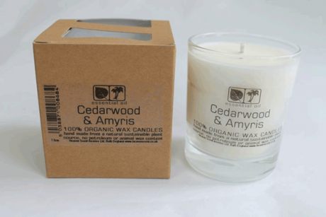 Cedarwood & Amyris 20cl Aromapot Candle - single