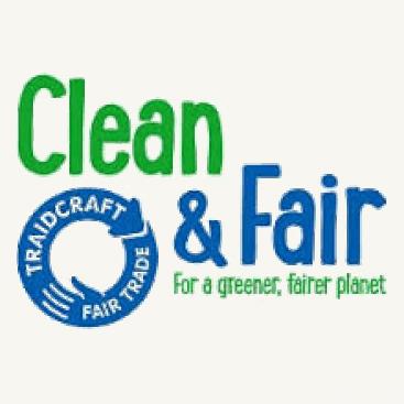 Clean & Fair Fair Trade wrapped soap bars & handwash