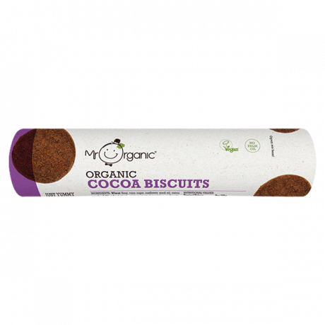 Organic Cocoa Biscuits