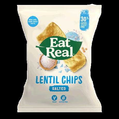 Sea Salt Lentil Chips - large